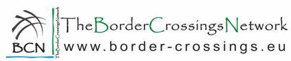 Border crossings network logo